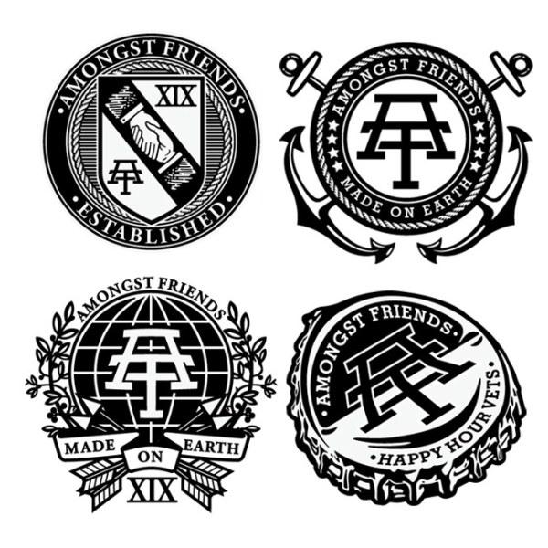 一些复古风格的徽章logo设计欣赏68982